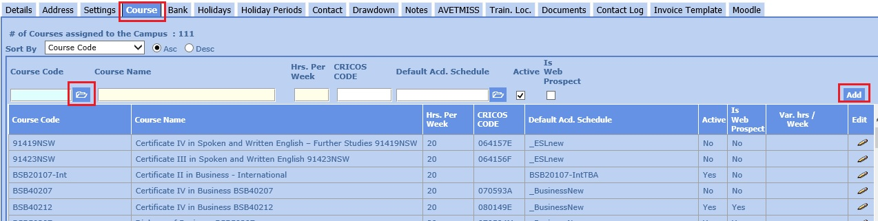 campus-entry-screen-course-tab