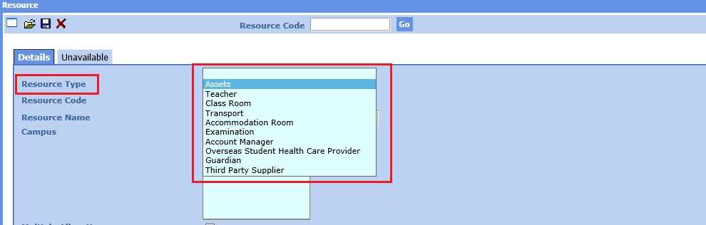 resources-entry-screen-resource-type